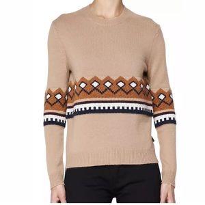 BURBERRY BRIT Camel Wool Cashmere Sweater EUC - XL